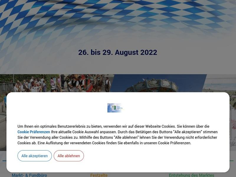 Screenshot von http://www.barthelmarkt.de/